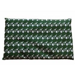 Rechteck Kissen grün/weiss...