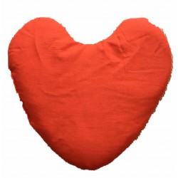 Herz - Kissen orange  ca....